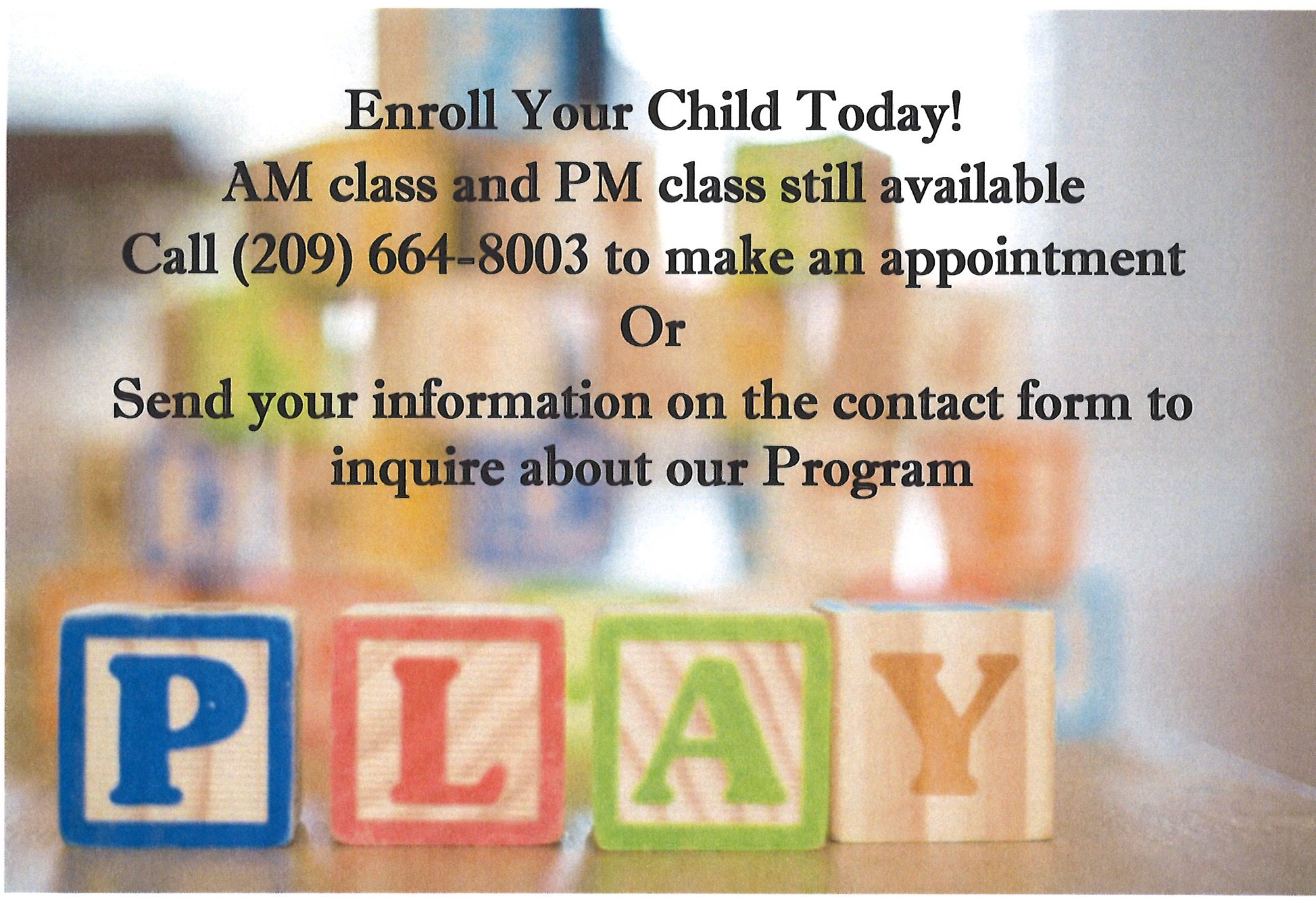 preschool posting